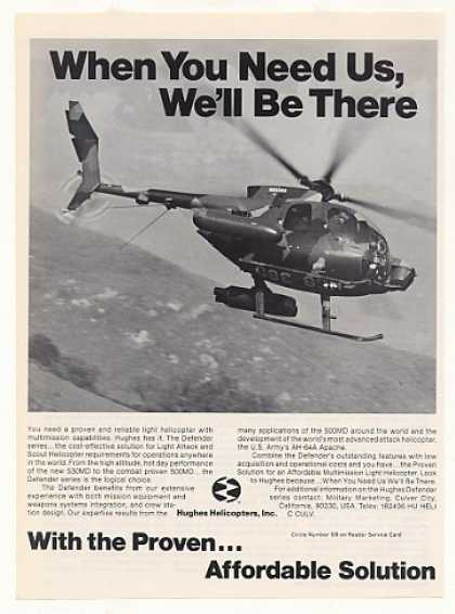 Hughes Defender Helicopter Photo (1983)