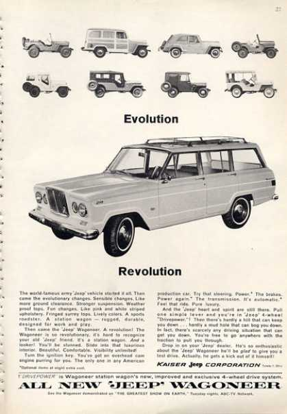 Jeep Wagoneer Evolution Revolution (1964)