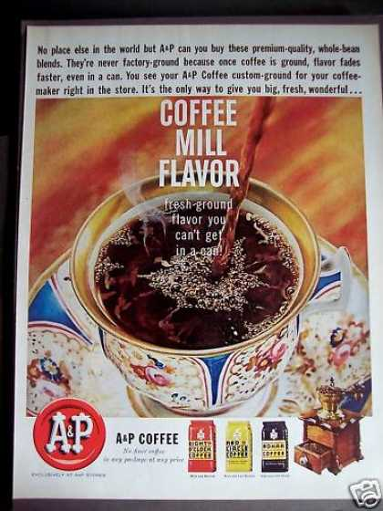 A&p Eight O'clock Coffee (1963)