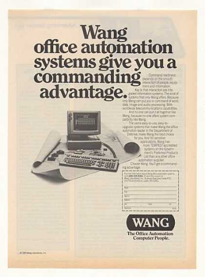Wang Office Automation Computer System (1983)