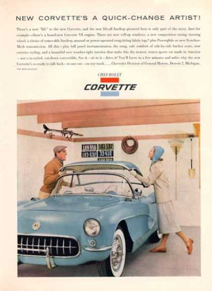 Chev Corvette Quick Change Convertible (1956)