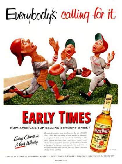 Early Times Whiskey (1954)