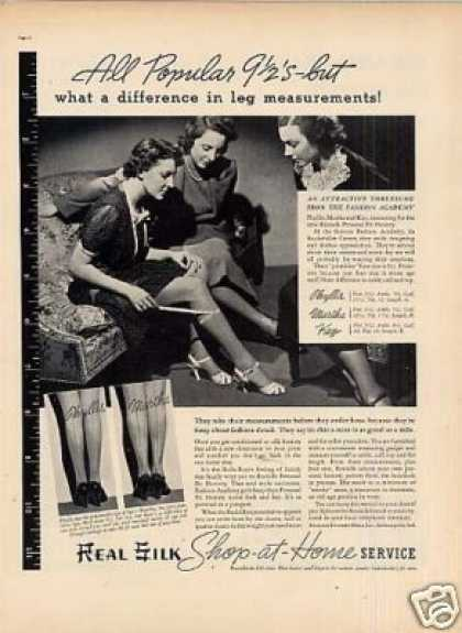 Real Silk Hosiery (1937)