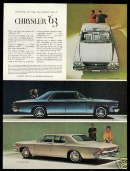 Chrysler 300 New Yorker Newport Vintage 3 Photo (1963)
