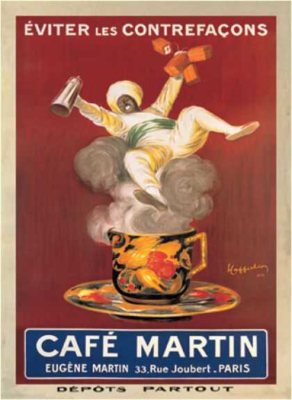 Cafe Martin by Leonetto Cappiello (1921)