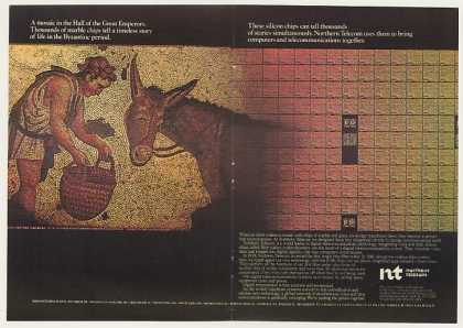 Northern Telecom Silicon Chips Byzantine Mosaic (1982)