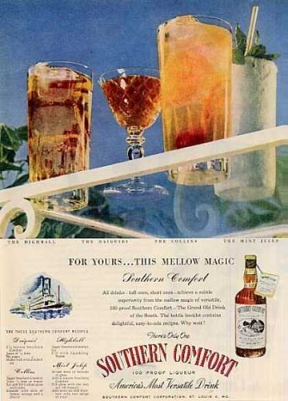 Southern Comfort Whiskey (1946)