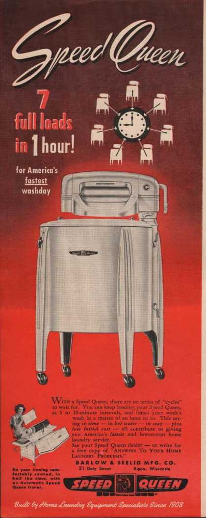 Speed Queen Laudry Washer (1949)