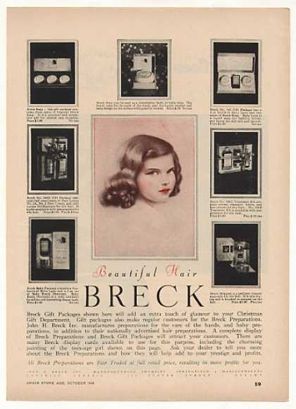 Breck Girl Gift Packages Vintage (1948)