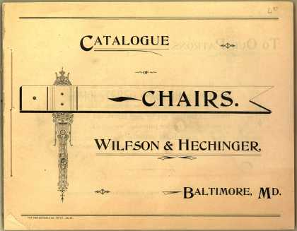 Wilfson & Hechinger's chairs – Catalogue of Chairs