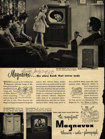 Magnavox Company's various – Magnavox... the story book that never ends (1950)