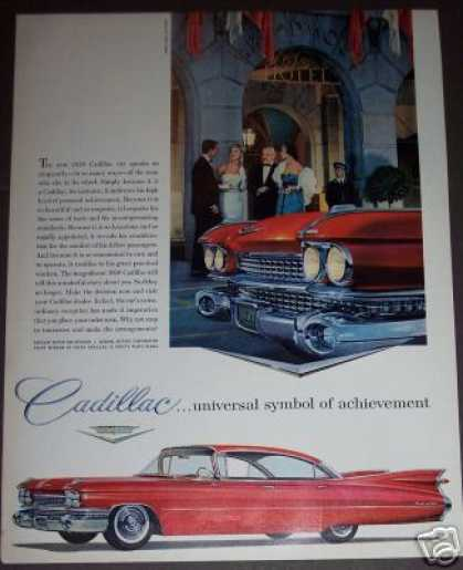 Cadillac Classic Red Car (1958)