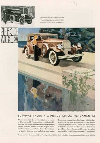 Pierce Arrow, USA (1931)