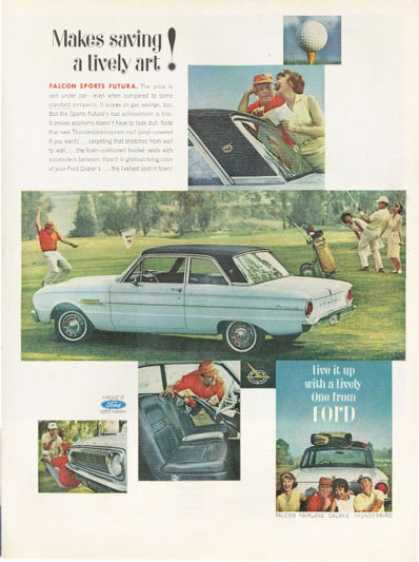 Ford Falcon Sports Futura Golf Course Golfing (1962)