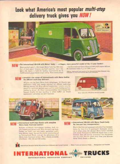 International Harvester – Metro Body Trucks – Sold (1949)