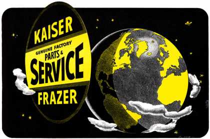 Kaiser-Frazer Service Covers the Globe (1948)