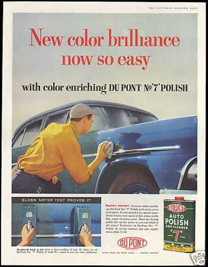 Dupont Auto Polish No 7 Gloss Meter Photo (1958)