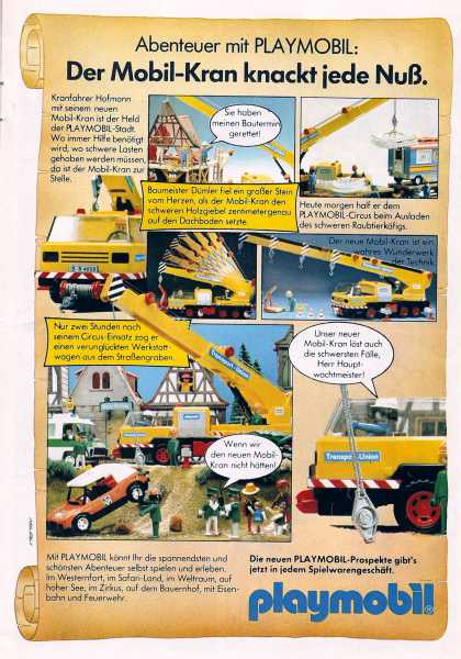 Playmobil comic (1982)