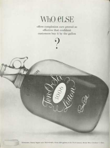 Ten O Six Beauty Lotion Bottle (1961)