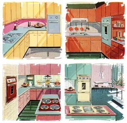 Suburban Built-In Ranges for (1960)