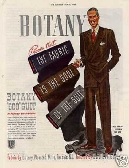 "Botany ""500"" Mens Suit (1943)"