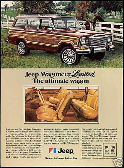 Jeep Wagoneer Limited Ultimate Wagon (1980)