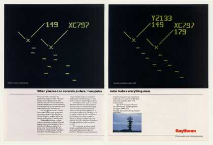 Raytheon Monopulse Air Traffic Radar 2-Page (1986)