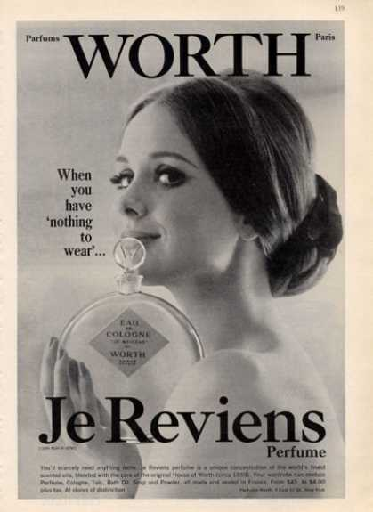 Jereviens Worth Lady Bottle (1964)