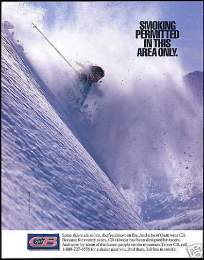 CB Ski Fashion Photo Smoking Permitted (1990)