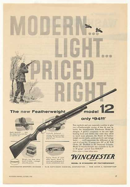 Winchester Featherweight Model 12 Shotgun (1958)