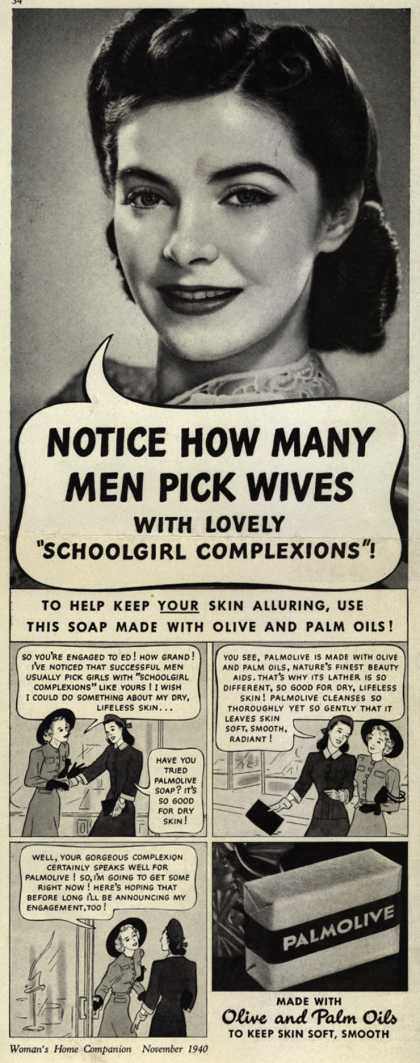 Palmolive Company's Palmolive Soap – Notice How Many Men Pick Wives (1940)