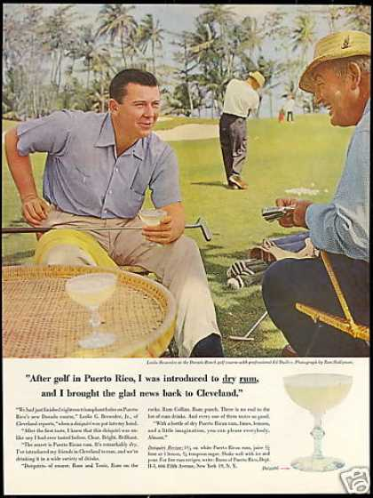 Puerto Rican Rum Dorado Beach Golf Course Photo (1958)
