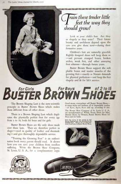 Buster Brown Shoes (1919)