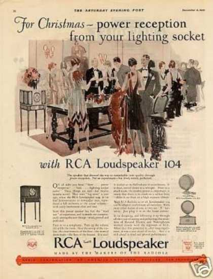 Rca Loudspeaker 104 Color (1926)