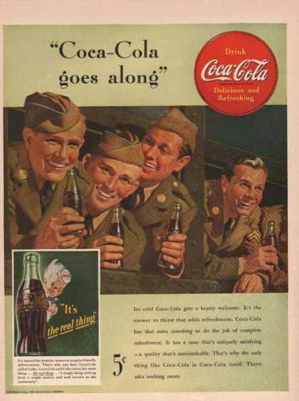 Coca Cola Soda Goes Along (1942)