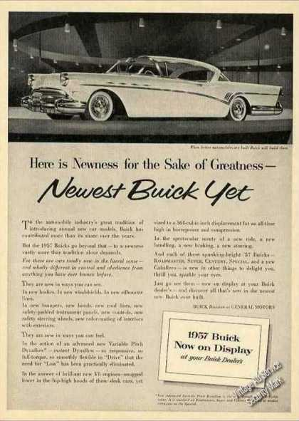 Buick Photo Collectible Car (1957)