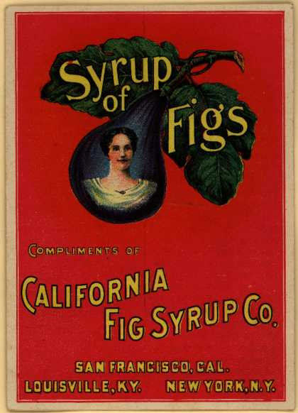 California Fig Syrup Co.'s Syrup of Figs – Syrup of Figs