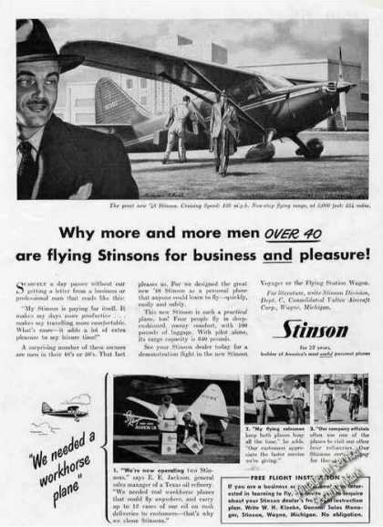 "Stinson ""We Needed a Workhorse Plane"" (1948)"