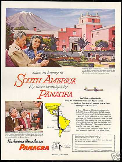 Panagra Pan American Grace Airways Peru (1953)