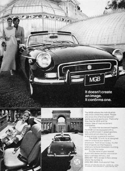 MGB Convertible #2 (1972)