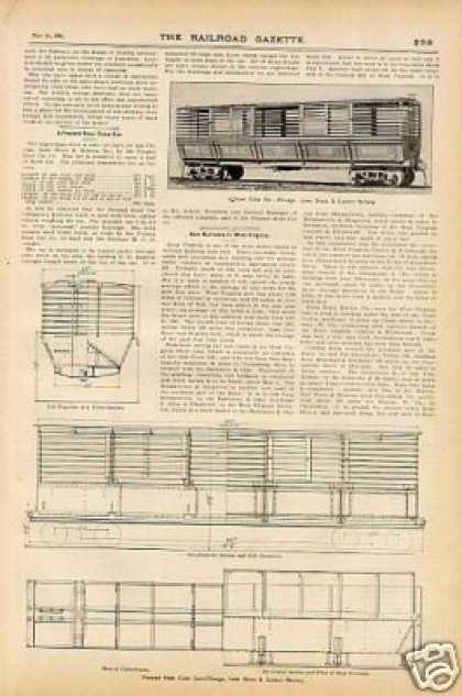 """A Pressed Steel Coke Car – Cls&e"" Article (1900)"