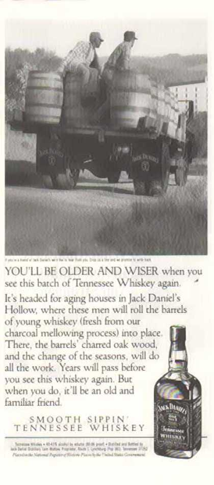 Jack Daniel's – You'll Be Older and Wiser (1992)