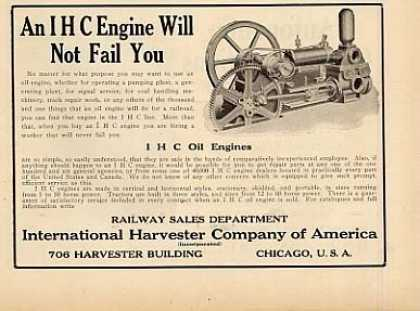 International Harvester Oil Engines (1913)