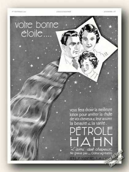 Petrole Hahn Antique French Language (1934)