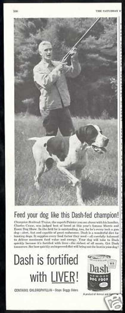 Hunting Pointer Champion Dog Food (1953)