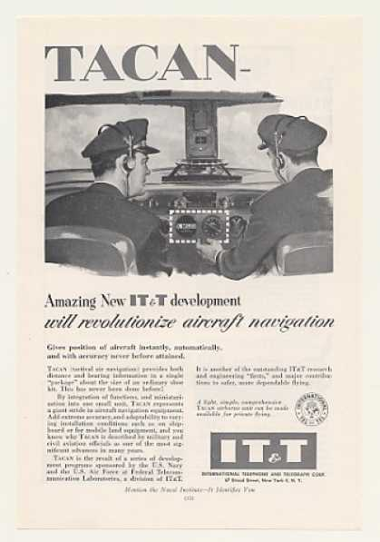 IT&T TACAN Tactical Aircraft Navigation (1955)