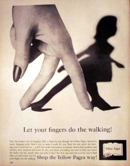 Yellow Pages – Fingers Do The Walking (1962)