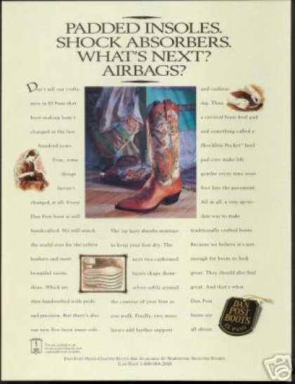 Dan Post Boots El Paso Cowboy Boot (1993)