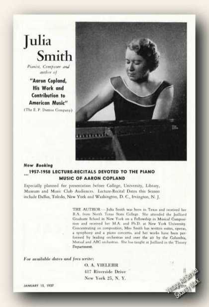 Julia Smith Photo Piano (1957)