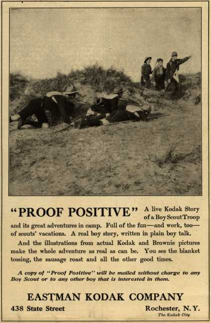 "Kodak's ""Proof Positive"" – ""Proof Positive"" (1912)"